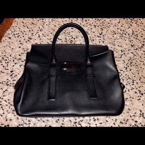 Calvin Klein Real Leather Hand Black bag